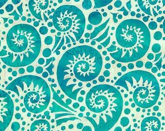 Geometric Batik Textiles Nautilus BATIK patchwork fabric