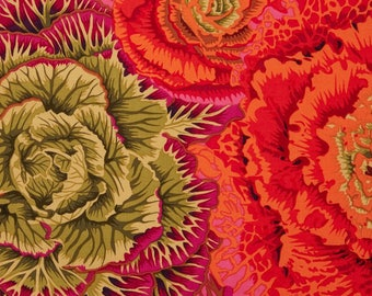KAFFE FASSET BRASSICA RUST PATCHWORK fabric