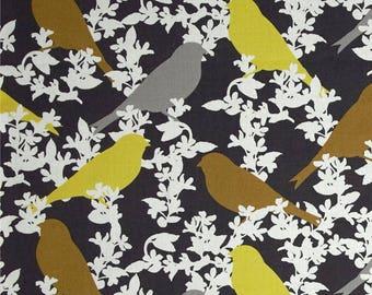 MICHAEL MILLER fabrics SEEDLING grey patchwork fabric