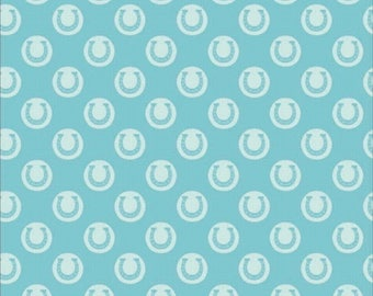 Light turquoise Riley Blake fabric Derby Style C4421 patchwork fabric