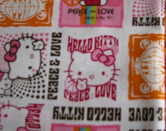 Kids patchwork fabric cat hello kitty stamps