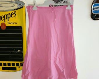 Pink skirt / / pink skirt