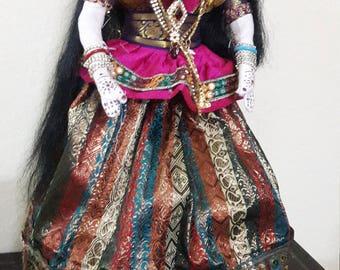 Eco-friendly, handmade Hindu Goddess doll
