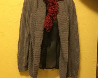 Womens and kids ruffle scarves