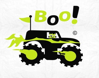 monster truck frankenstein SVG Clipart Cut Files Silhouette Cameo Svg for Cricut and Vinyl File cutting Digital cuts file DXF Png Pdf Eps