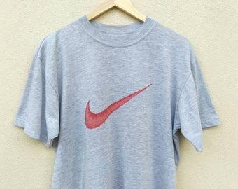 Vintage Nike Swoosh Lips Big Logo tshirt