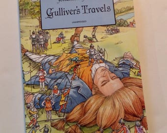 Gulliver's Travels by Jonathan Swift Dover Paperback Edition 1996 Classic Literature