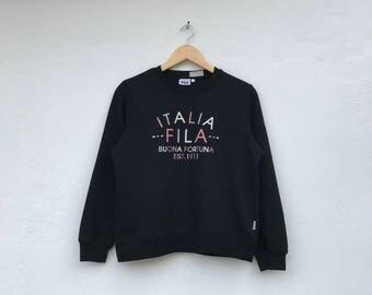FILA multicolour spellout sweatshirt