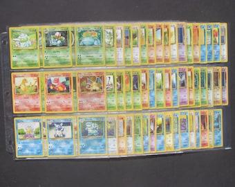 Complete Original 151 Pokemon Card Set (All 45 Holos)