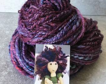 's! Hand spun yarn.