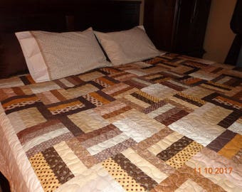 queen size quilt 100 in by 100 in
