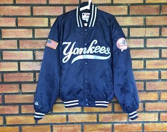 Sale Sale Sale Vintage New York Yankees MLB Baseball Jacket