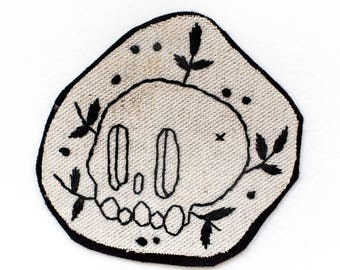 Skull patch and foliage