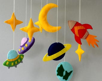 moon star mobile moon baby mobile space baby mobile baby mobile nursery mobile cot mobile boy mobile girl mobile space mobile rocket mobile