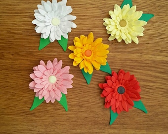 Chrysanthemum 3D 3 in a pack choice off colours