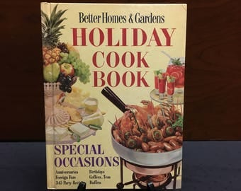 1965 Holiday Cook Book - Better Home & Gardens