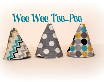 Wee Wee T-Pee - Set of Three - Tinkle Tent & Wee wee teepee | Etsy