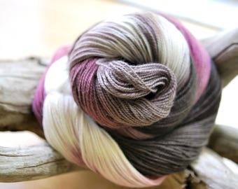 Hand Dyed Sock Yarn - Stereo on Jazz