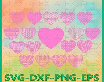 70% OFF, Heart SVG, Valentine's day svg, Love SVG, Cutting File Design, Chevron Files Svg, Heart File svg, png, eps, dxf, ai, Silhouette