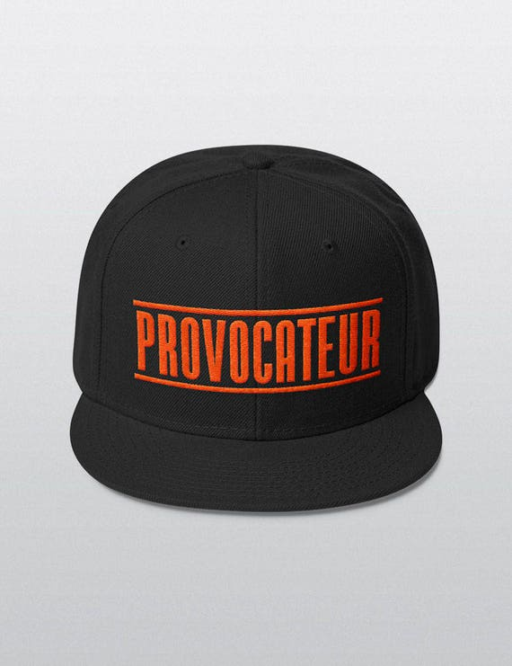 PROVOCATEUR | Wool Blend Snapback Cap