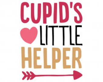 Cupids Little Helper .svg file for Cricut and Silhouette