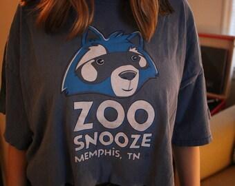 Zoo Snooze Crop