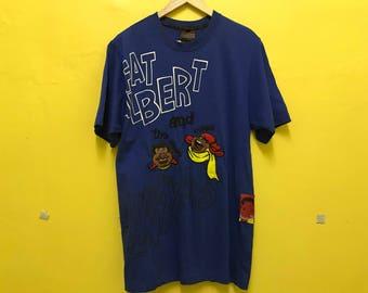 Vintage Fubu Fat Albert Shirt | The Albert & Russell Junkyard Gang | Embroidery