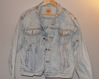 Vintage VTG Hard Rock Cafe Denim Jacket