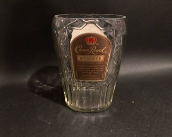 Crown Royal Reserve Candle Canadian Whiskey Soy Candle  Made To Order !!!!!!!