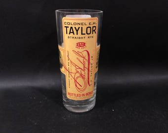 Colonel E.H. Taylor EH Taylor Candle Rye Whiskey Soy Candle. Buffalo Trace Distillery. 750ML.  Made To Order !!!!!!!