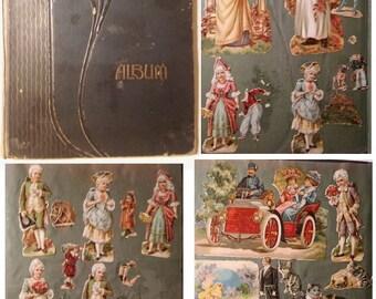vintage scrap album