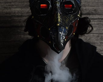 Plague Doctor Mask Cyberpunk