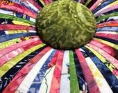 Tuffet Pillow made with c...