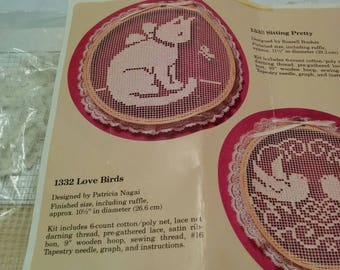 Creative Circle Cat Lacework kit