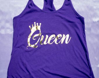 Queen Racerback Tank Top