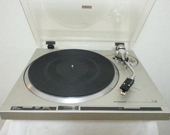 Vintage Pioneer PL-200 Direct Drive Semi-Automatic Turntable/Good Working Cond.