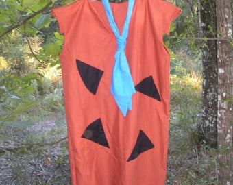 Fred Flintstone Cosplay or Halloween Costume - Fred Flintstone Costume for Men - Flintstones Cosplay - Flintstone Family Halloween Costumes