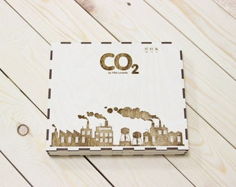 CO2 board game crate, box, storage solution