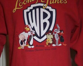 Vintage 1990,s Looney Tunes Sweatshirt