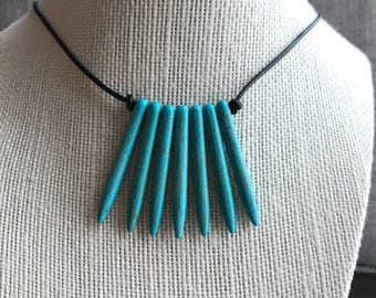 Turquoise point Choker