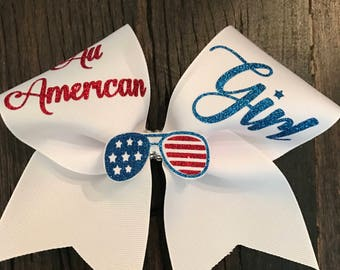 All American Cheer Bow