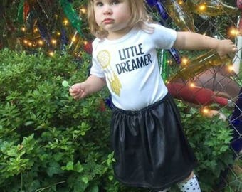 Little Dreamer Bodysuit, Festival Shirt, Boho Shirt