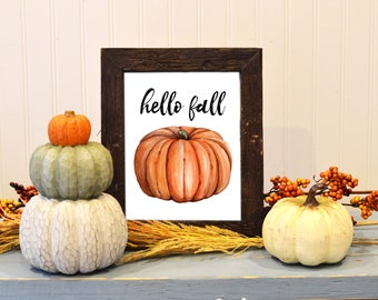 fall home decor etsy - Fall Home Decor