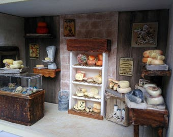 Shop Miniature - The French Cheese Shop