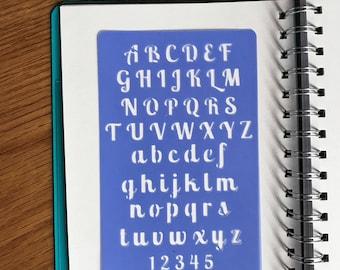 Alphabet Stencil 2