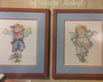 New Cross Stitch Pattern Jeanette Crews Designs - Patches & Pals by Ursula Michael
