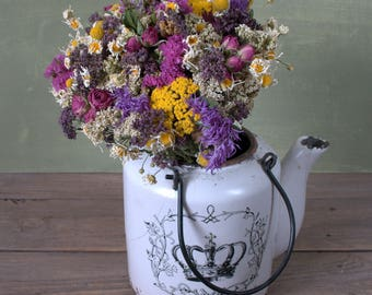 Summer  Brides, Bridesmaid Bouquet, Boho Natural Rustic Weddings, everlasting flowers