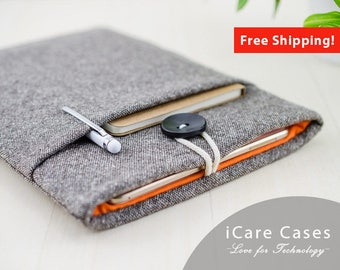 MacBook Case Mac 12 Mac Case MacBook 12 2017 Case For 12 Inch MacBook Apple MacBook Pro MacBook Pro 13 Inch Case Brown Wool Tweed Orange