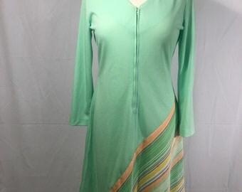 Vintage Polyester Knit Shift Dress