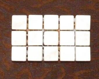 WHITE MARBLE MOSAIC TILES 15